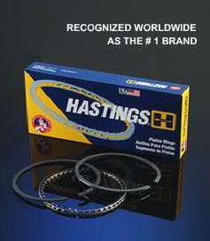 Hastings Piston Rings #1 Brand