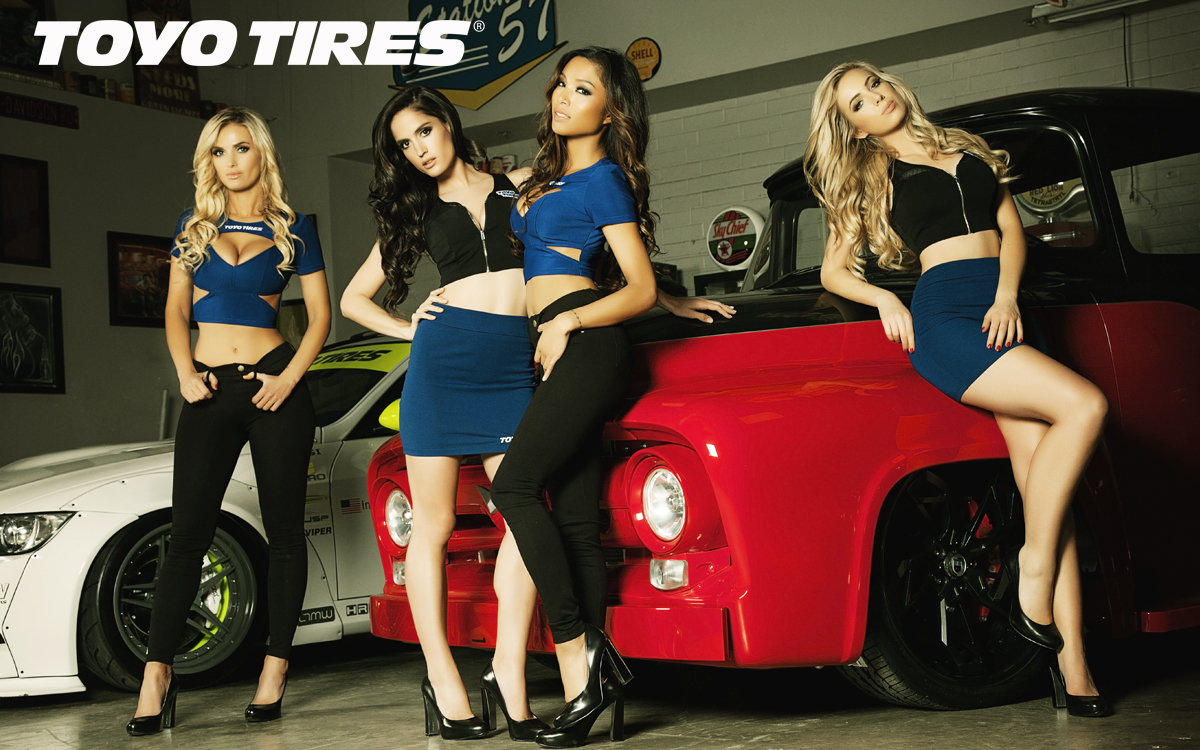 Toyo Tires Girls Group Wallpaper